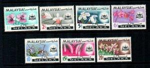 Malacca #67-73  Mint  Scott $5.70