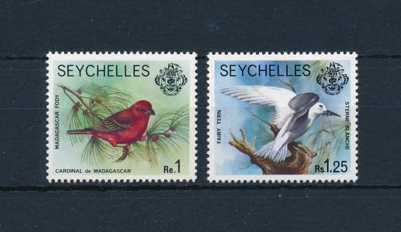 [60056] Seychelles 1977 Birds Vögel Oiseaux Ucelli from set MLH