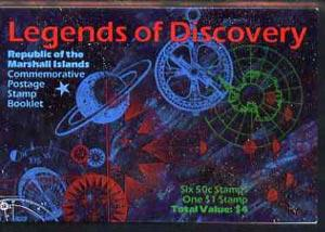 Booklet - Marshall Islands 1992 Legends of Discovery $4 b...