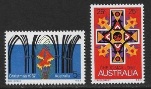 Australia 1967 Scott # 429 - 430 Mint NH. Full set of 2. Ships free with another