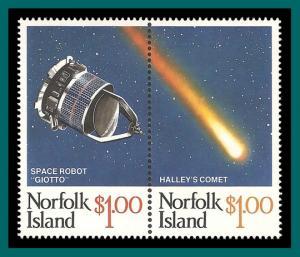 Norfolk Island 1986 Hally's Comet, MNH  381,SG383a
