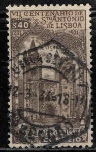 PORTUGAL Scott 530  Used St Anthony Lisbon stamp