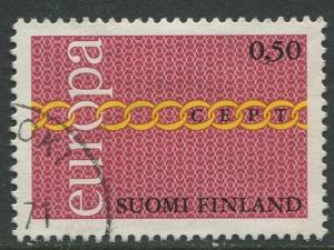 Finland - Scott 483 - Europa Issue -1969- Used - Single 50p stamp