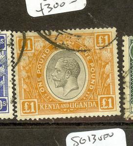 KENYA UGANDA   (P0910B) KGV L1  SG95  VFU