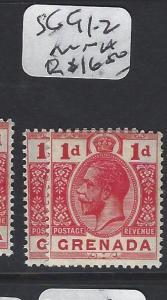 GRENADA  (PP0305B)  KGVV 1D  SG 91-92    MNH