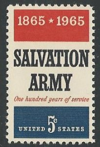 US Cat # 1267, Salvation Army, MNH*-