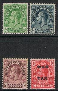 TURKS & CAICOS ISLANDSS 1913 - 26 KING GEORGE V