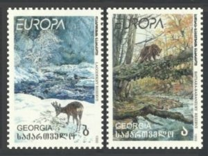 Georgia MNH 312-3 Fauna Europa 1999