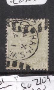Great Britain SG 153, PL16 SON CDS VFU (8ddu)