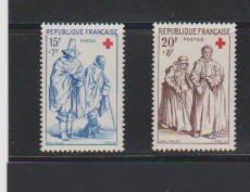 FRANCE #B318-B319  STAMPS  MNH .LOT#F75