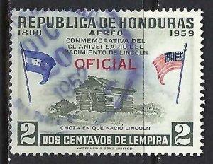 Honduras CO99 VFU Z8092-1