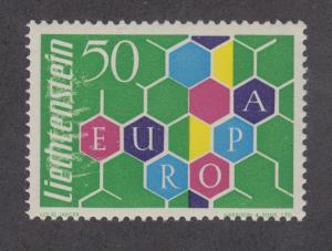 Liechtenstein Sc 356 MNH. 1960 EUROPA-CEPT cplt