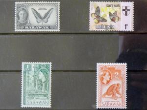 2528   Sarawak   MH, VF   # 180, 197, 198, 235       CV$ 2.20
