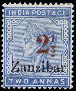 Zanzibar Scott 31D Gibbons 27D Mint Stamp