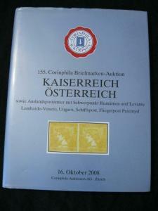 CORINPHILIA AUCTION CATALOGUE 2008 KAISERREICH OSTERREICH AUSTRIA POs IN ROMANIA