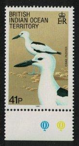 BIOT Crab plover Bird 41c SG#95