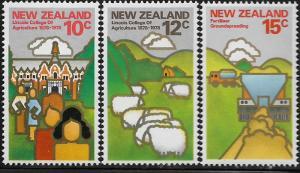 NEW ZEALAND, 660-665, MNH, DAIRY FARMING
