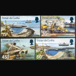 TRISTAN DA CUNHA 1996 - Scott# 580-3 New Harbor Set of 4 NH