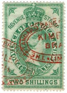 (I.B) Griqualand West Revenue : Duty Stamp 2/-