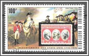 Upper Volta #355 Stamps On Stamps CTO