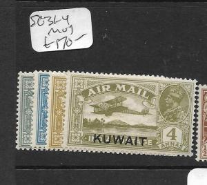 KUWAIT  (PP0705B)  ON INDIA KGV    A/M  SG 31-4  MOG