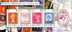 2001 Isle of Man Sg MS935 Queen's Birthday Minisheet Unmounted Mint