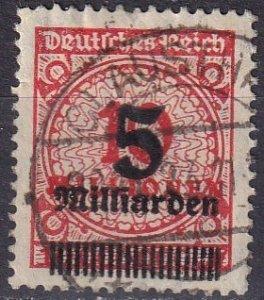 Germany #319 F-VF Usef CV $180.00 (Z5282)