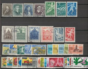 COLLECTION LOT # 5696 NETHERLANDS 38 SEMI POSTAL STAMPS 1937+ CV+$19