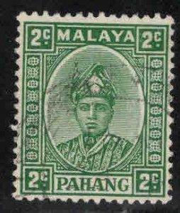 MALAYA-Pahang Scott 30A Used 1941 Deep Green color