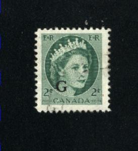 Canada #O41   4  used  1955-56  PD  .15
