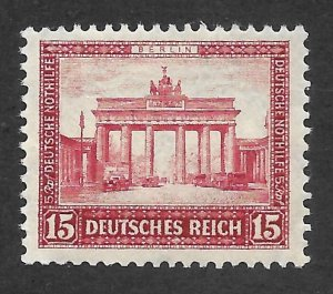 Doyle's_Stamps: Mint NH 1930 Brandenburg Gate Semi-Postal  Scott #B33b**