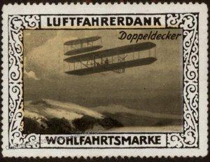 Germany Biplane Doppeldecker WWI Air Force Memorial Luftfahrerdank Fligh G102837