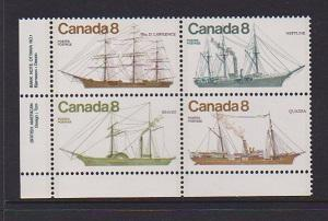 CANADA PLATE BLOCK MNH STAMPS #673a LOT#PB542