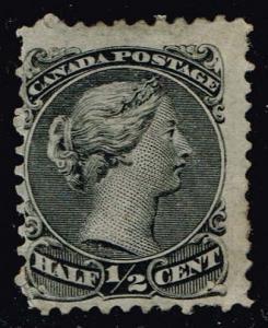 Canada #21a Queen Victoria; Unused (150.00)