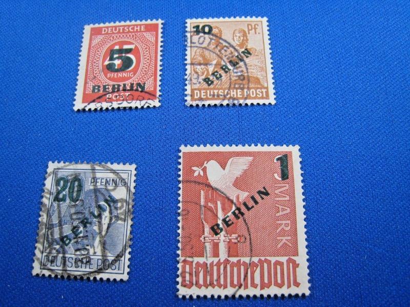 GERMANY - Berlin - SCOTT # 9N64-9N67  - Used       (kb)