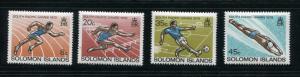 Solomon Islands #389-92 MNH
