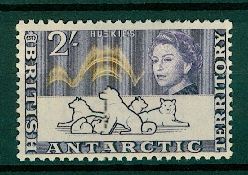 British Antarctic Territory QEII 1963 2/- Huskies sg11 (1v) Mint Stamp