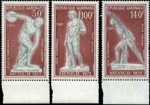 Gabon Scot Set C129-C131 Mint Never Hinged