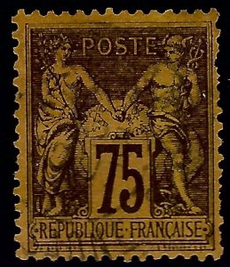 Nice France #102 Used F-VF short perf SCV$32.50...From a great auction!