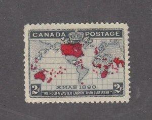 CANADA KK66 # 86 VF-MNH 2cts XMAS IMPERIAL PENNY POSTAGE CAT VALUE $180