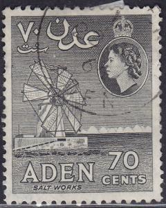 Aden 54a Hinged 1956 Salt Mill