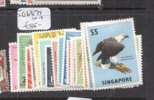 Singapore SG 63-77 MOG (4dis)