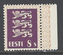 Estonia Sc # 94 mint hinged (DT)