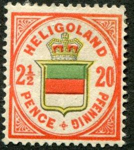 Heligoland  Sc.# ?    Mi.# 18   MH*