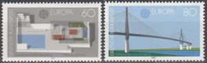 Germany #1505-6 MNH CV $2.85 (S5641)