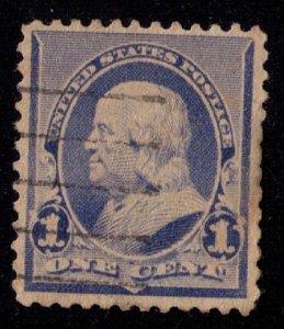 US Sc 246 FRANKLIN ULTRA USED VF/XF