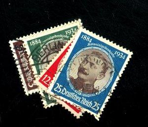 GERMANY #432-5 USED FVF HR Cat $30