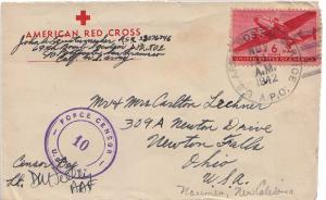 United States A.P.O.'s 6c Transport 1942 U.S. Army Postal Service A.P.O. [502...