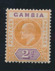 Gambia Stamp Scott #43, Mint Hinged - Free U.S. Shipping, Free Worldwide Ship...