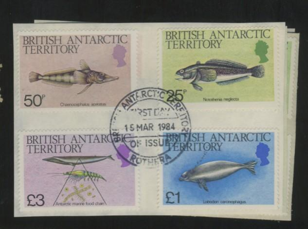 British Antarctic Terr #102-16 Used F-VF 1s tDay Cancel Cat$31.80